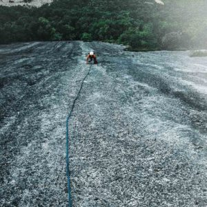 Nachsteigen beim Alpinklettern