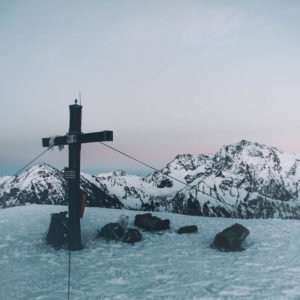 Gipfelkreuz am Schnippenkopf